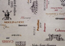 Carte des vins sample
