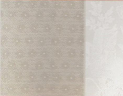 Nappe coton enduit Salettes gris