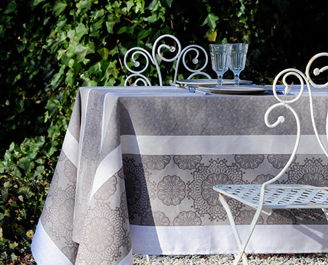 Jacquard nappe de table antitache